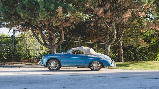 Porsche 356A Speedster 1600 modelo 1957 va a subasta
