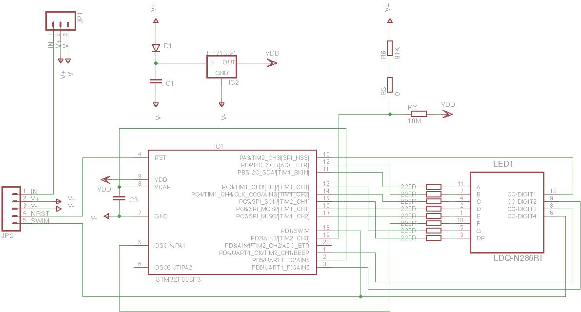 Magic Smoke: I2C LED Display From Hacked Voltmeter