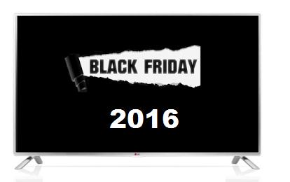 Black friday 2016 sconti su tv for Black friday televisori