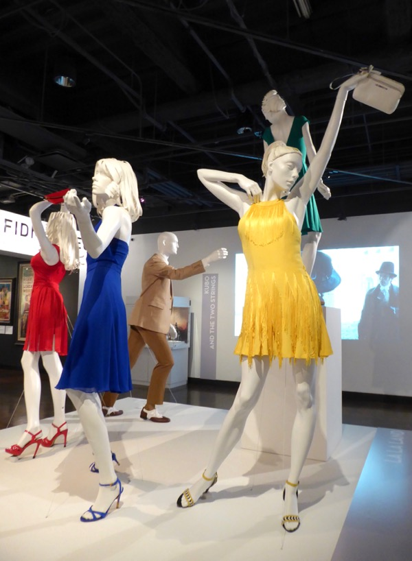 Hollywood Movie Costumes And Props Oscar Nominated La La Land Film Costumes On Display