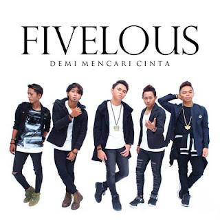 "Lirik Lagu ""Demi Mencari Cinta"" dari Fivelous. Lagu ini masih berupa single yang didistribusikan oleh label Life Records."