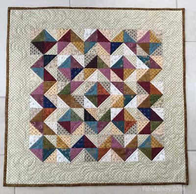 Quilted Cat Mat - Kim Diehl fabrics