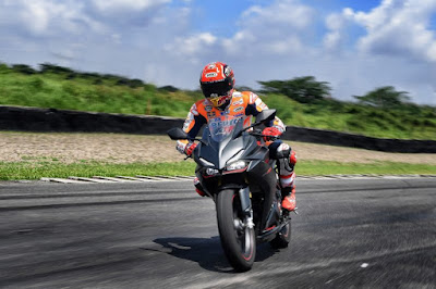 Video Marquez Demo Riding CBR250RR di Sirkuit Sentul