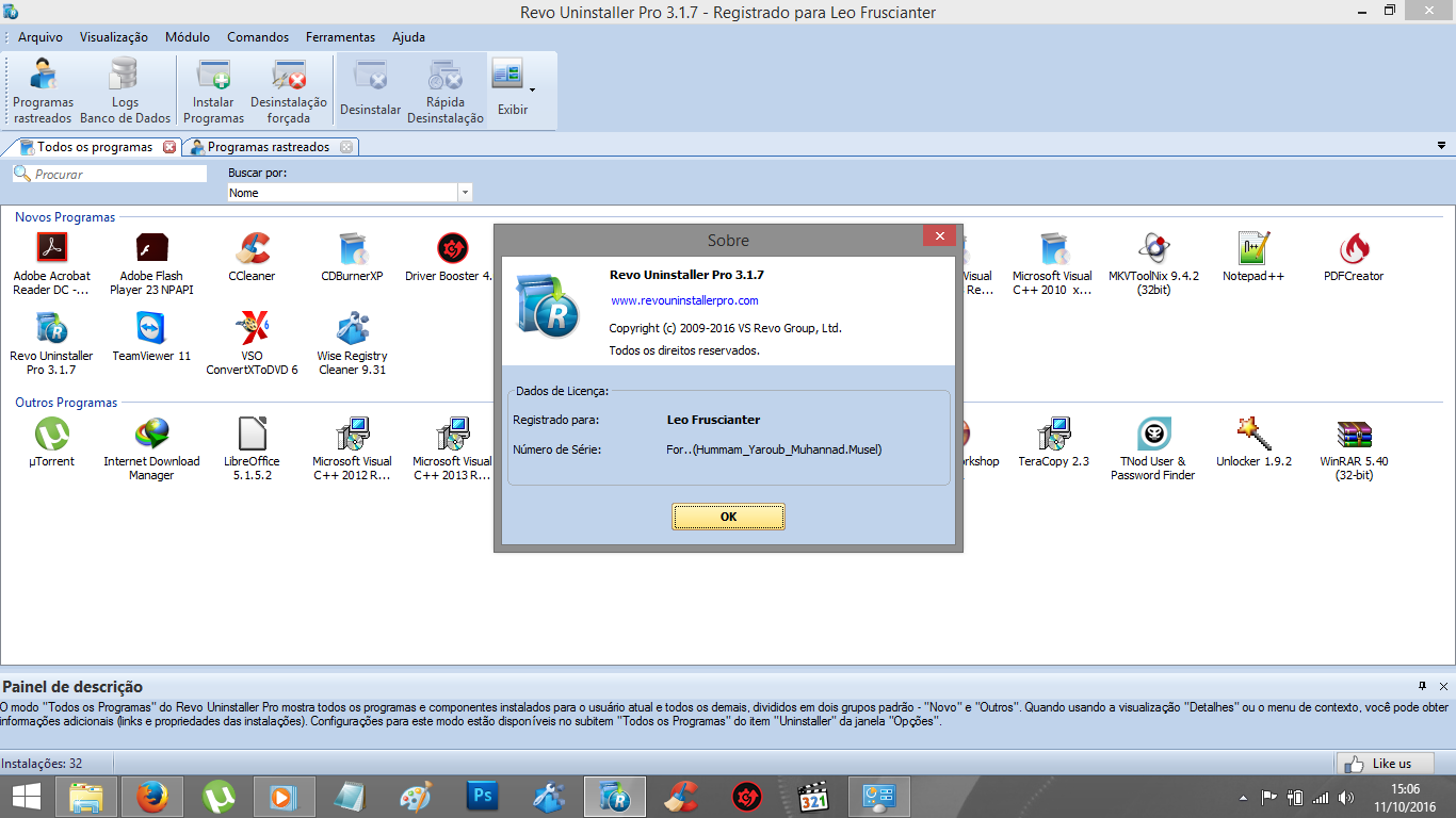 Revo Uninstaller Pro 3.1.7 + Ativador