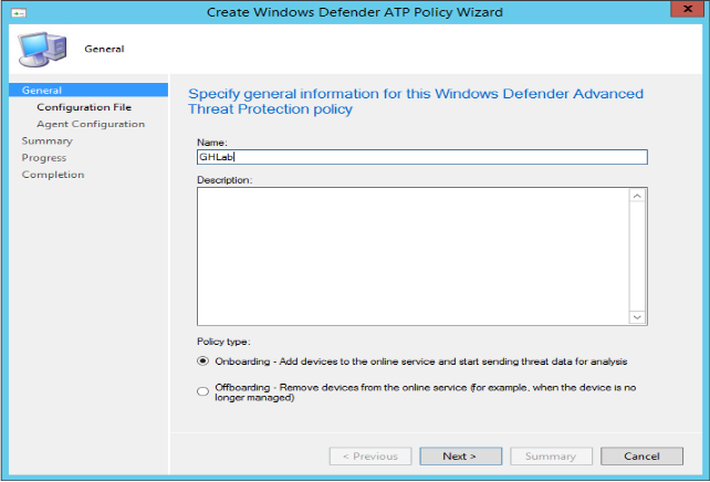 Gerry Hampson Device Management: Manage Windows Defender ATP with