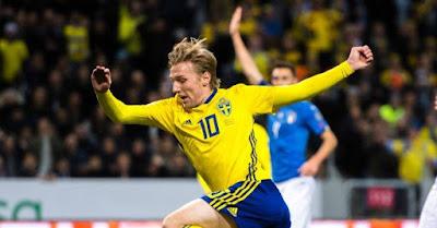 Live Streaming Swedia vs Inggris