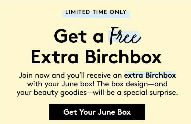 birchbox free box with purchase