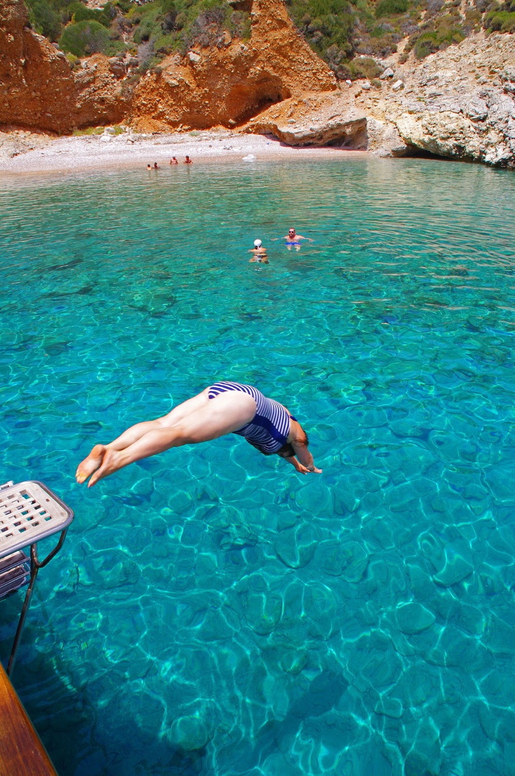 Diving into Stunning water sailing in Turkey