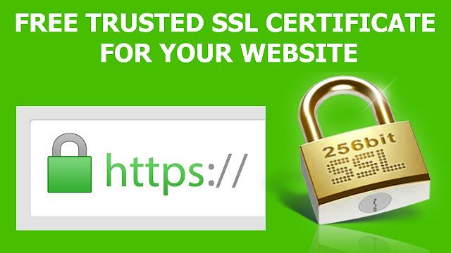 Free Trusted SSL Certificate