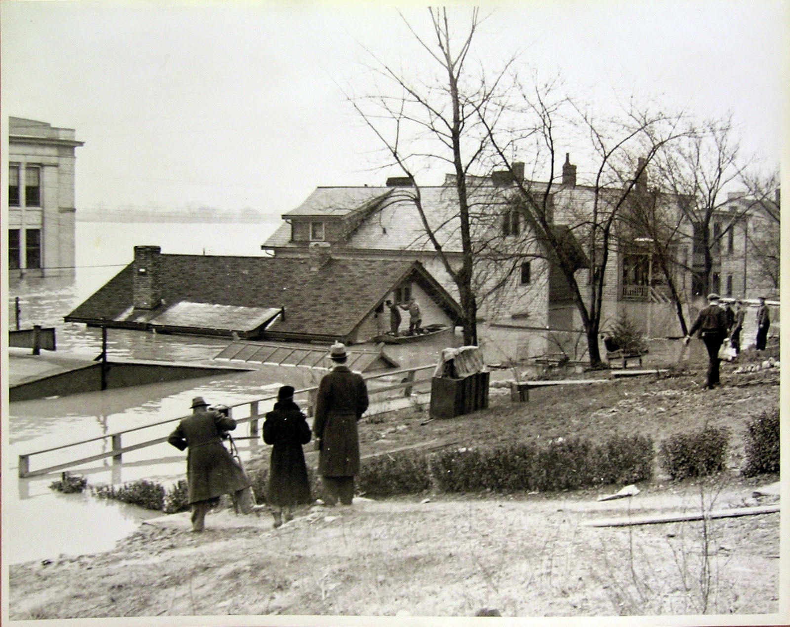 A river runs through us from this view you can see that the water level got up just below the attic the house is still standing in 2015 biocorpaavc Choice Image