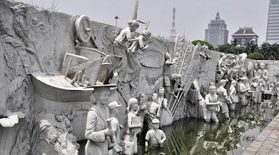 Monas, Monumen Nasional, Objek Wisata, Jakarta, landmark jakarta, Relief Monas