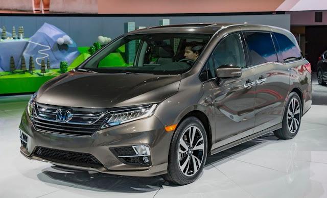 2018 Honda Odyssey Reviews Exterior