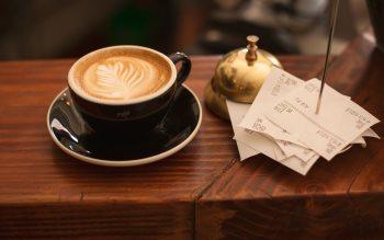 Wallpaper: Cappuccino Coffee Bar