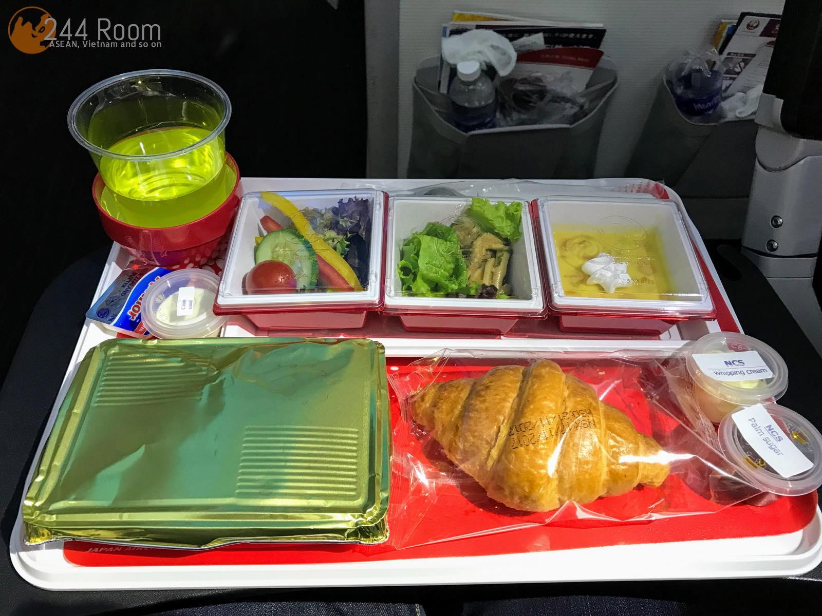 JALエコノミークラス機内食 JAL Economyclass-flightmeal-jl752