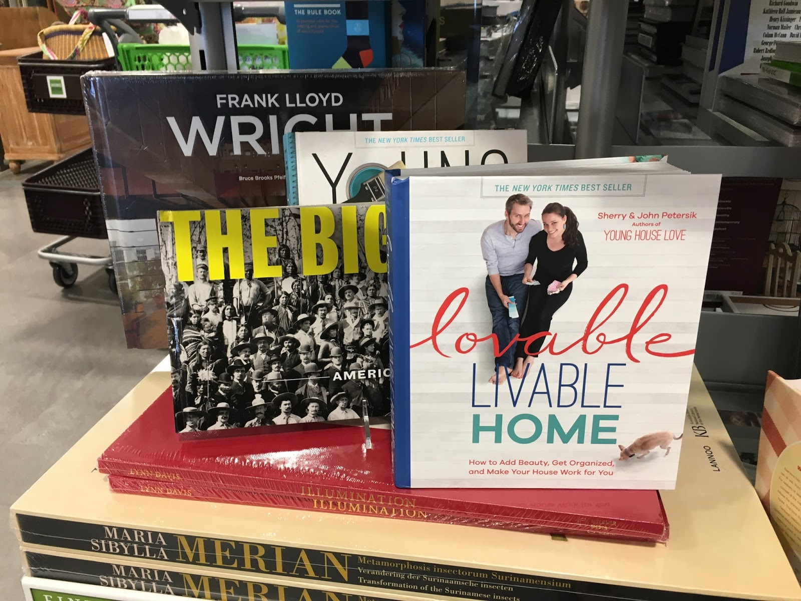 Book section at Homesense