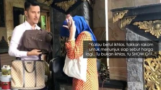 Respon Mengejutkan Dato' Aliff Syukri Bila Dituduh 'Show Off' Beri Hadiah Mahal Untuk Ibu