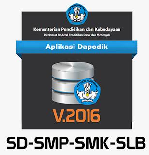 Download dapodik2016 tahun Plejaran 2016/2017