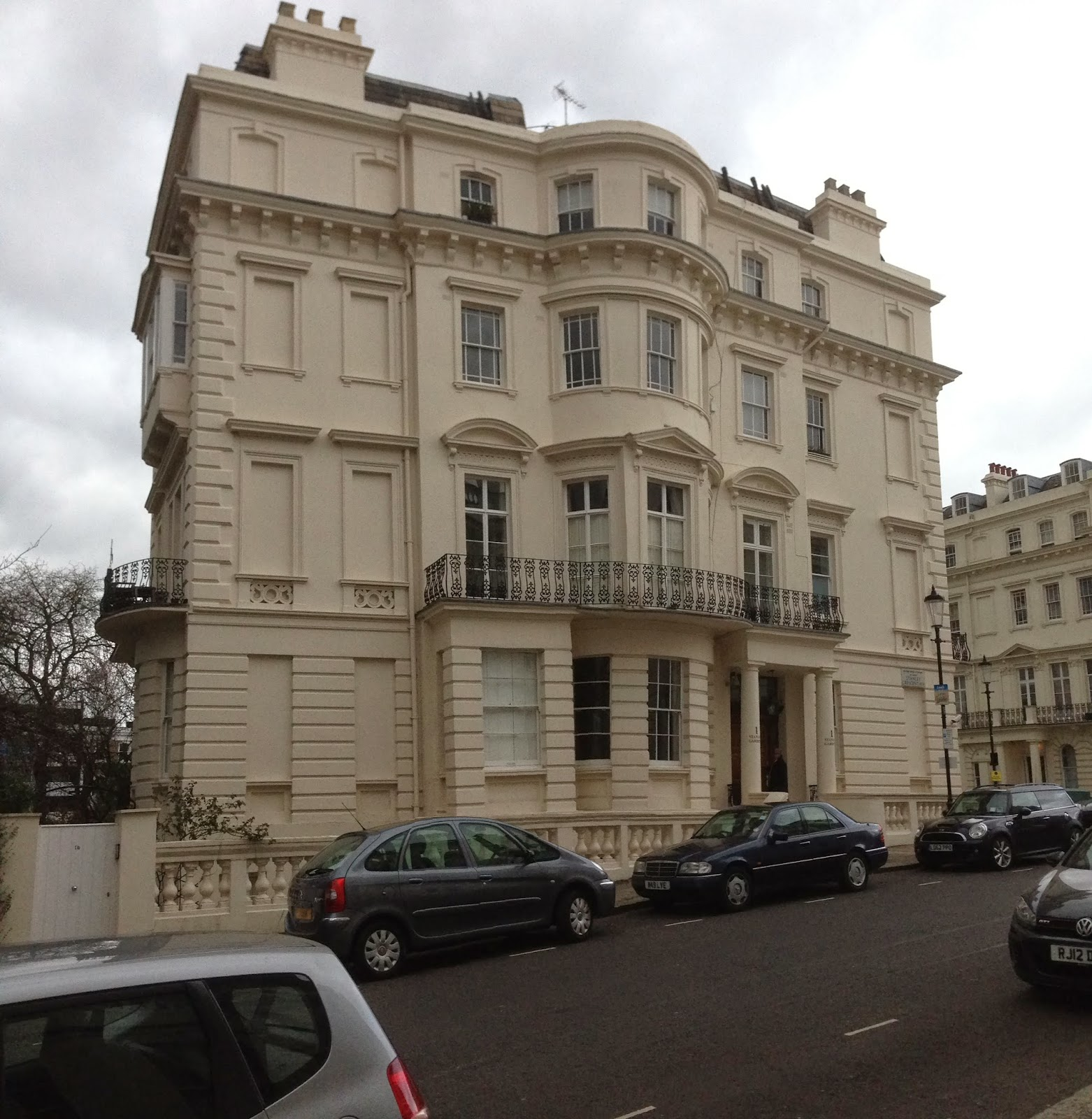The Address Is No 1 Stanley Crescent In Notting Hill Which A District Royal Borough Of Kensington And Chelsea Was Once