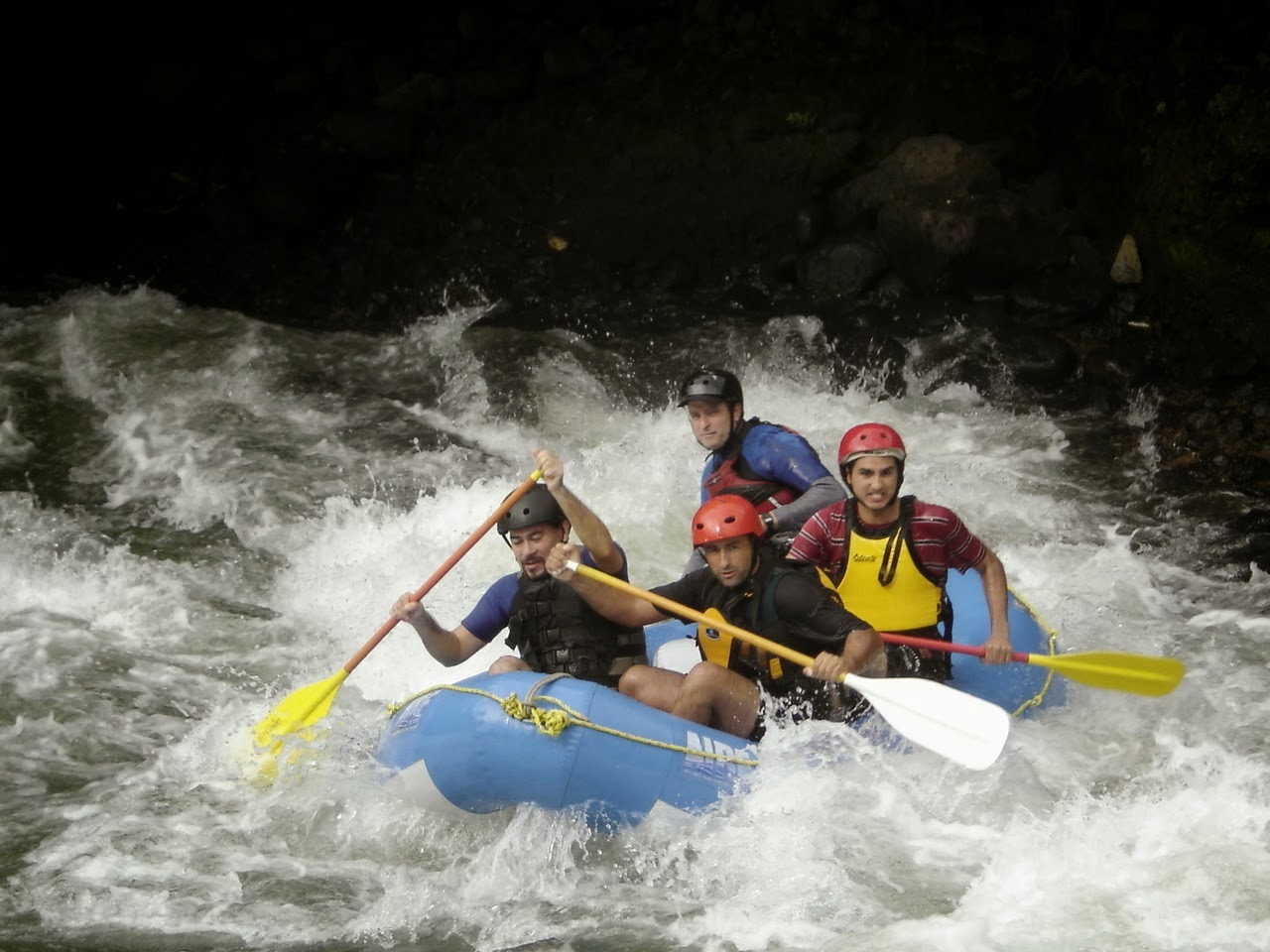 ONE DAY IN THE AMAZON RIVER BASIN   White Water Rafting