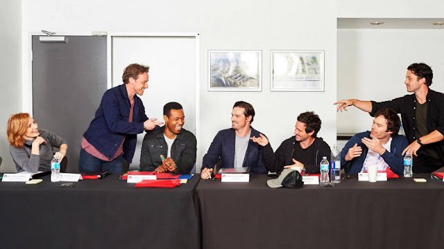 First look at the cast of IT: Chapter Two includes Jessica Chastain, James McAvoy & Bill Hader in sequel to IT based on book by Stephen King