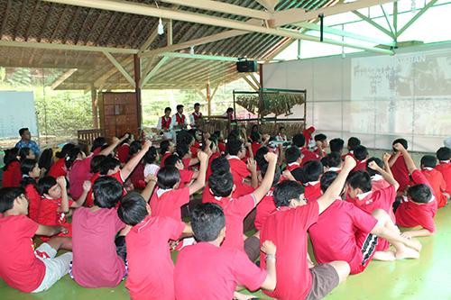 Kegiatan Sosialisasi Nasionalisme Indonesia