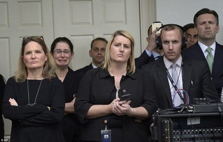 What is Happening Here? These Photo of White House Staff Looking Sad Has Got the Whole World Talking