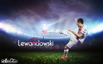 Wallpaper: Football Player Robert Lewandowski