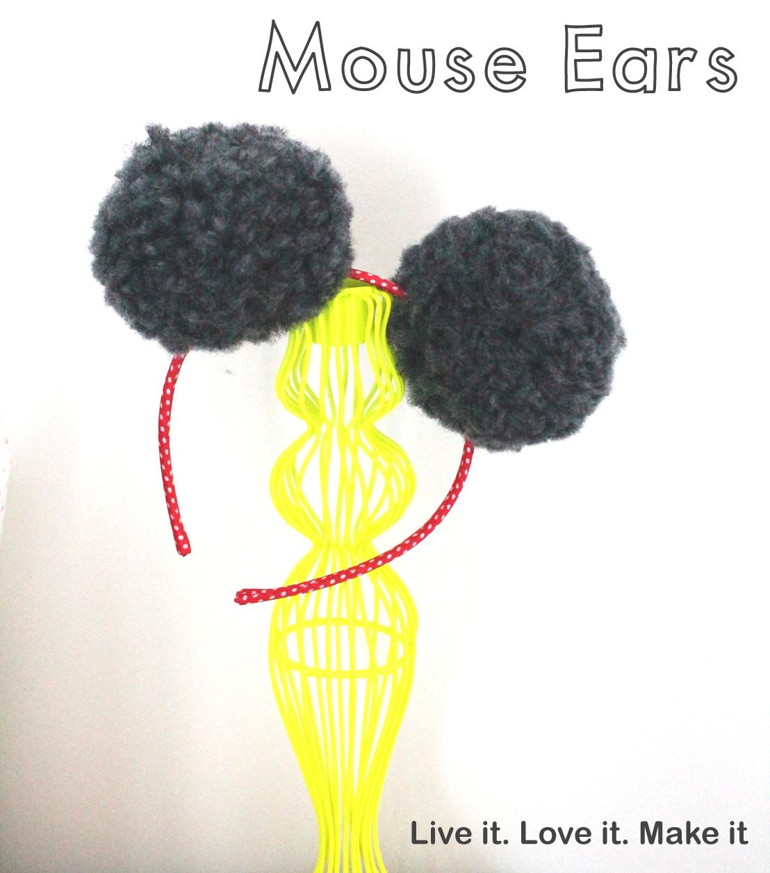 Make it: Disney inspired Mouse Ears