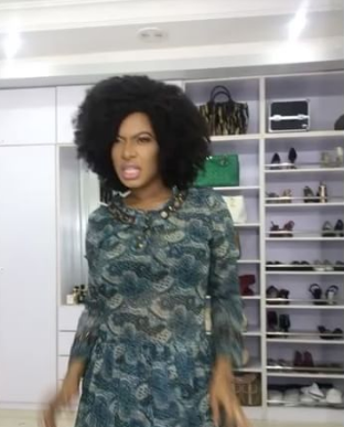 chika ike dancing to beyonce song