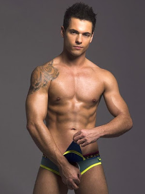 Andrew Christian Almost Naked Peek-A-Boo Holiday Brief Underwear Sample Gayrado Online Shop