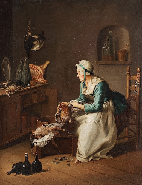 Late 18th Century Paintings of Women