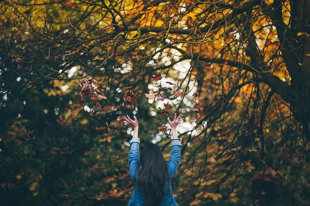 ảnh cô gái và mùa thu tháng 8