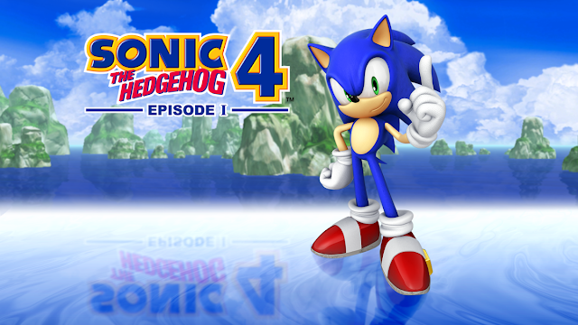 Sonic the Hedgehog 4 - Episode1 cover 1