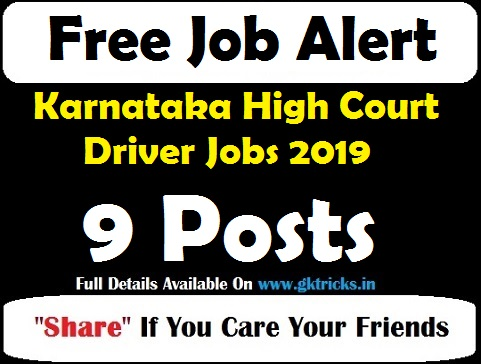 Karnataka High Court Driver