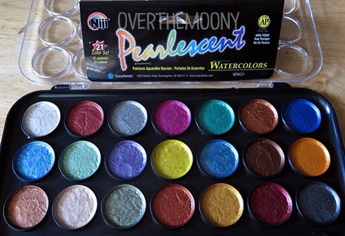 Yasutomo Pearlescent palette