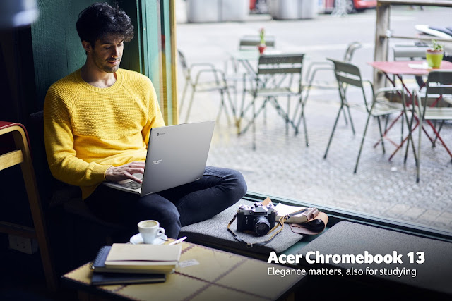 Chromebook in Your Classroom To Become Content Creator @AcerAfrica