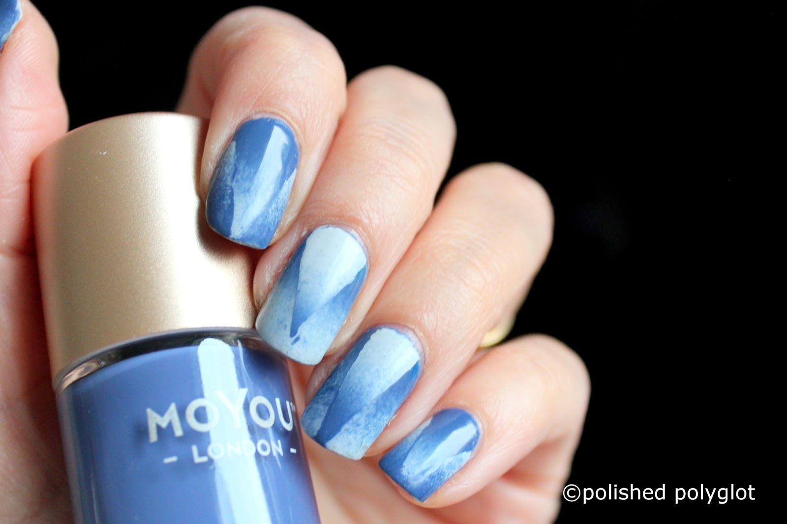 Nail art snowy morning nails using moyou london 26gnai you might be familiar with the technique or the concept of colour gradient in nail art it means simply to use two or more colours and apply them on each prinsesfo Choice Image