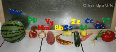 lois ehlert, eating the alphabet, veggies and fruits, picnic preschool theme, homeschool letter activity, teaching children to eat healthy
