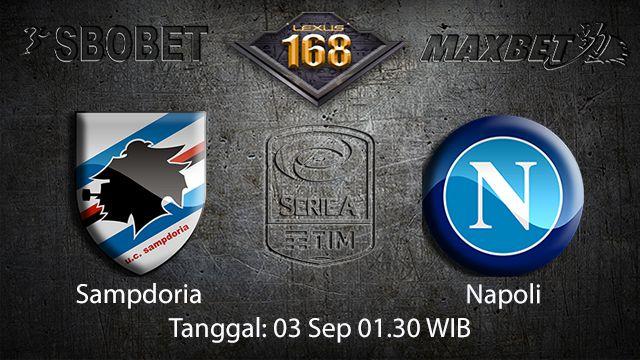 Prediksi Bola Jitu Sampdoria vs Napoli 3 September 2018 ( Italian Serie A )