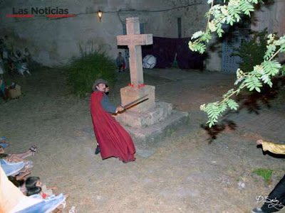 Cuenca, recreación leyenda del Convertido
