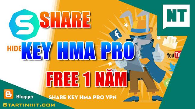 [VIDEO] SHARE KEY HMA PRO FREE 1 NĂM MỚI NHẤT