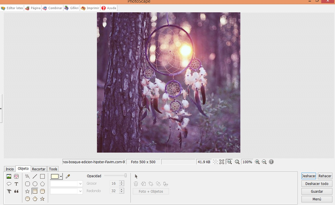 Hacer fotos online con efectos for Editor de fotos efectos