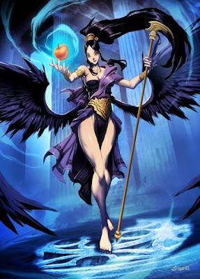 eris la diosa de la discordia