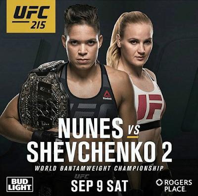 UFC 215 Nunes vs Shevchenko 2 Preliminary Fights 9th September 2017 720p WEB-DL 950Mb