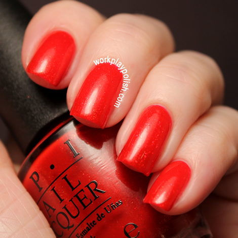2012 OPI Skyfall Collection: The Spy Who Loved Me (work / play / polish)