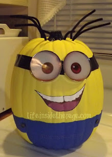 My Minion Craft Halloween Pumpkin Project on Pinterest