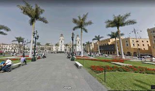 The Plaza Mayor Lima is the birthplace of the city of Lima
