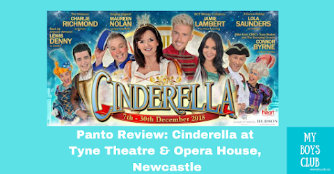 Panto Review : Cinderella at Tyne Theatre & Opera House, Newcastle