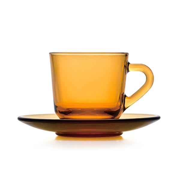 アデリア60 コーヒーカップ&ソーサー 石塚硝子