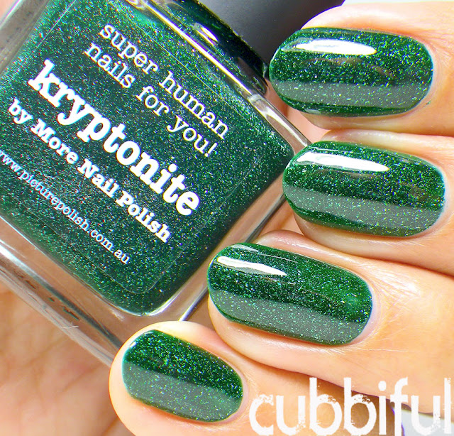 Picture Polish Kryptonite.